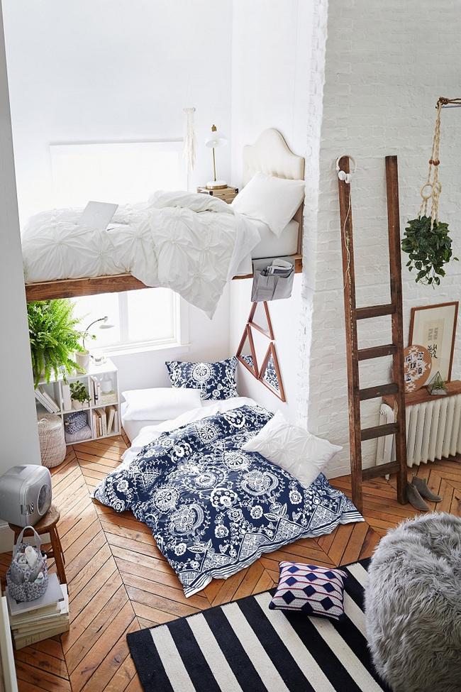 Bày cách thiết kế giường ngủ bên cửa sổ cực đẹp cho các cô nàng thích mộng mơ - Ảnh 9.