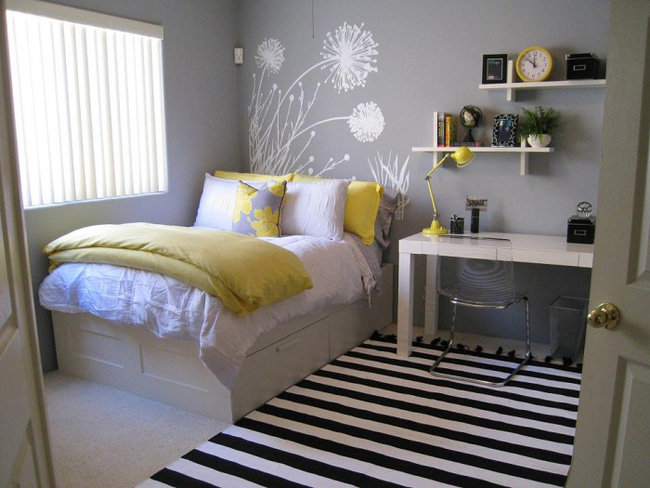 Bày cách thiết kế giường ngủ bên cửa sổ cực đẹp cho các cô nàng thích mộng mơ - Ảnh 10.