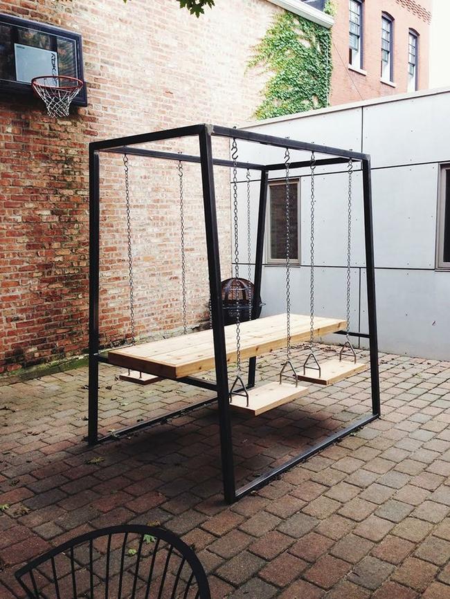 24 mẫu bàn ghế xinh yêu cho khu vực ăn uống và nghỉ ngơi ngoài trời - Ảnh 1.