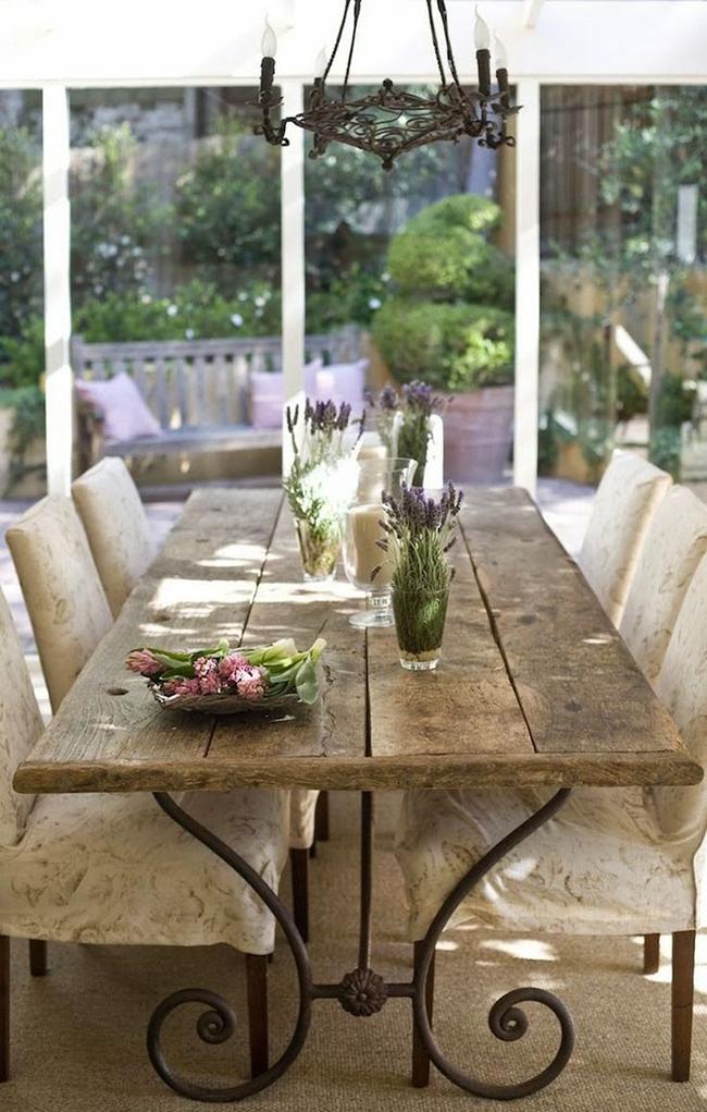 24 mẫu bàn ghế xinh yêu cho khu vực ăn uống và nghỉ ngơi ngoài trời - Ảnh 3.