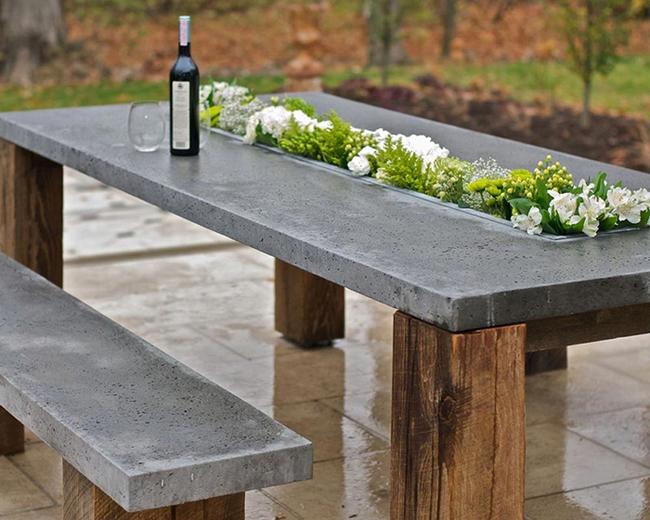 24 mẫu bàn ghế xinh yêu cho khu vực ăn uống và nghỉ ngơi ngoài trời - Ảnh 5.