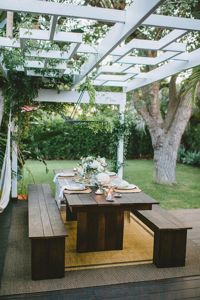 24 mẫu bàn ghế xinh yêu cho khu vực ăn uống và nghỉ ngơi ngoài trời - Ảnh 6.