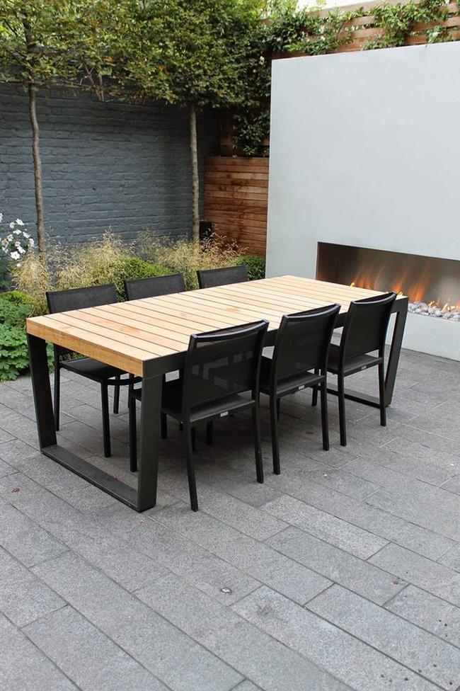 24 mẫu bàn ghế xinh yêu cho khu vực ăn uống và nghỉ ngơi ngoài trời - Ảnh 7.