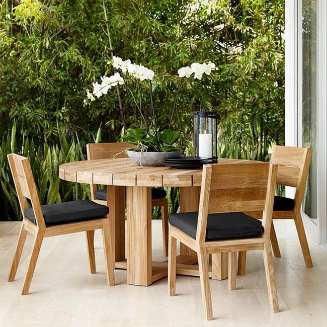 24 mẫu bàn ghế xinh yêu cho khu vực ăn uống và nghỉ ngơi ngoài trời - Ảnh 9.