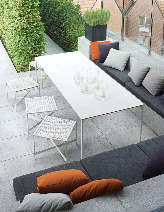 24 mẫu bàn ghế xinh yêu cho khu vực ăn uống và nghỉ ngơi ngoài trời - Ảnh 13.