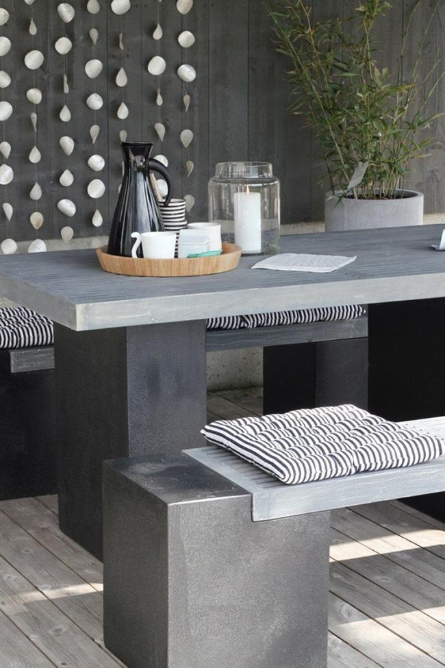 24 mẫu bàn ghế xinh yêu cho khu vực ăn uống và nghỉ ngơi ngoài trời - Ảnh 16.
