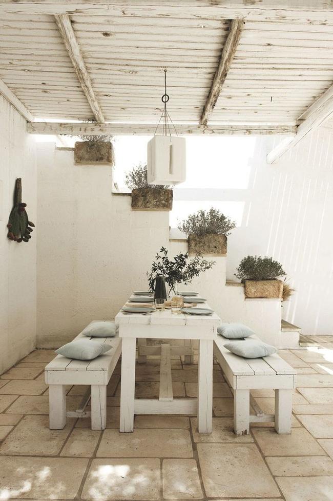 24 mẫu bàn ghế xinh yêu cho khu vực ăn uống và nghỉ ngơi ngoài trời - Ảnh 18.