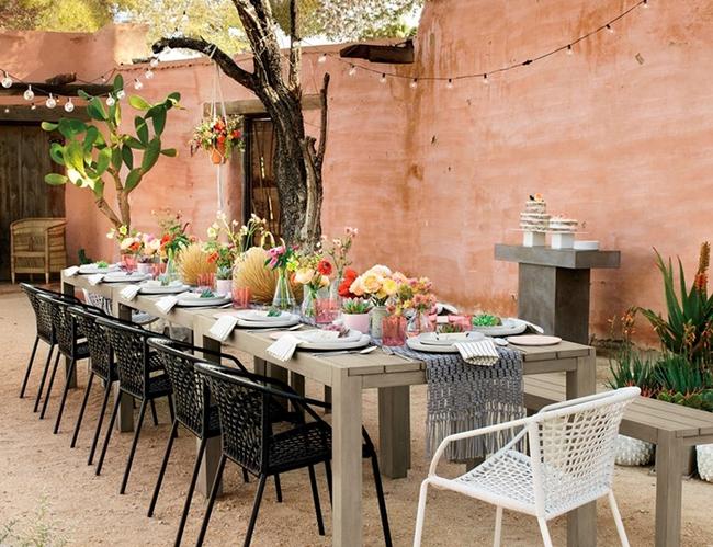 24 mẫu bàn ghế xinh yêu cho khu vực ăn uống và nghỉ ngơi ngoài trời - Ảnh 21.