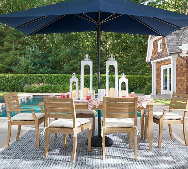 24 mẫu bàn ghế xinh yêu cho khu vực ăn uống và nghỉ ngơi ngoài trời - Ảnh 23.