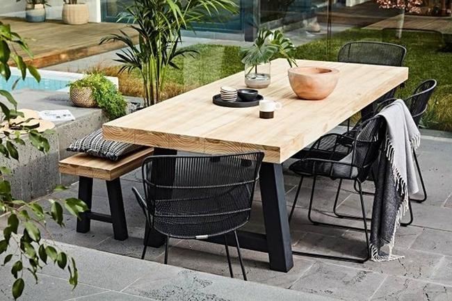 24 mẫu bàn ghế xinh yêu cho khu vực ăn uống và nghỉ ngơi ngoài trời - Ảnh 24.