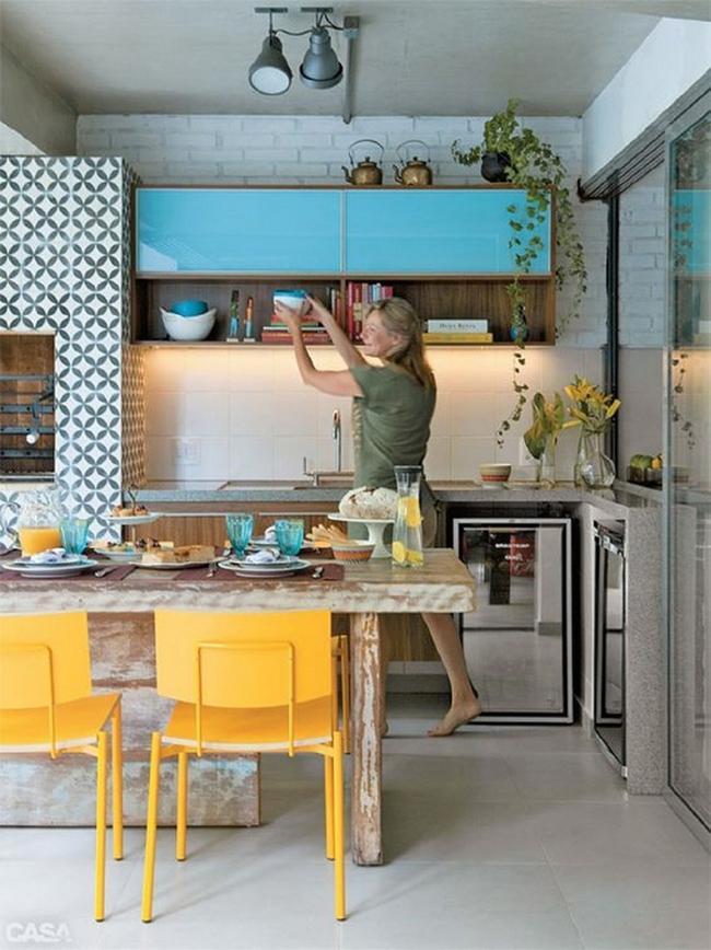 3 mẹo tô điểm cho phòng bếp nhà bạn thêm phần rực rỡ - Ảnh 7.