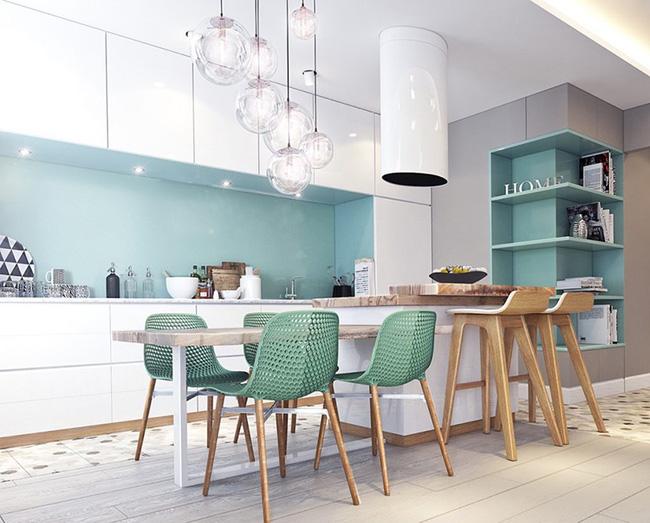 3 mẹo tô điểm cho phòng bếp nhà bạn thêm phần rực rỡ - Ảnh 8.