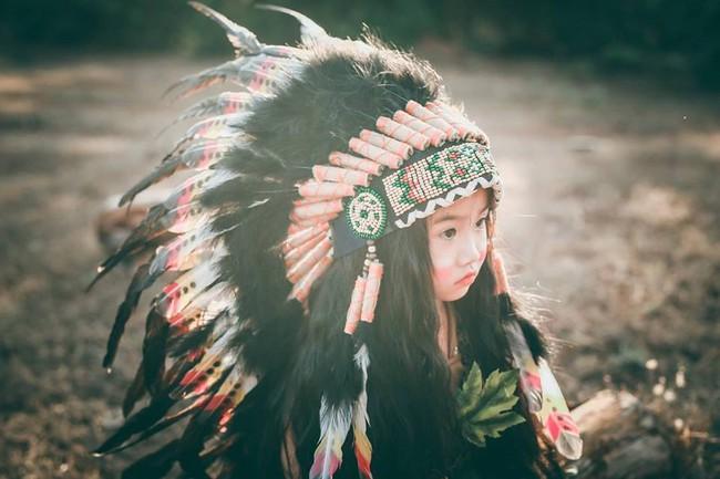 """""""Hoa khôi nhí"""" Tây Nguyên lại hóa nàng thổ dân xinh đẹp - Ảnh 7."""