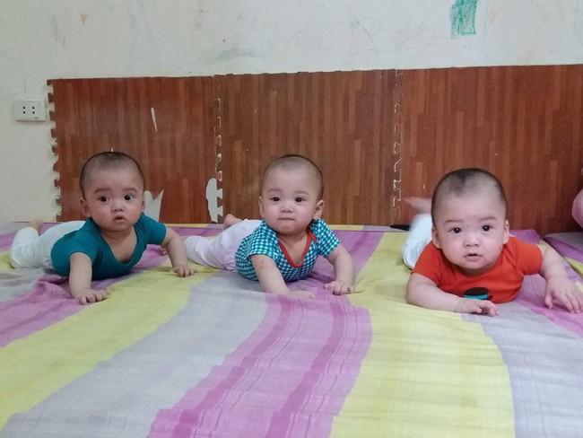 Bà mẹ 9X hồi hộp kể lại những nỗi sợ trong ca sinh ba cùng trứng cực hiếm gặp - Ảnh 6.