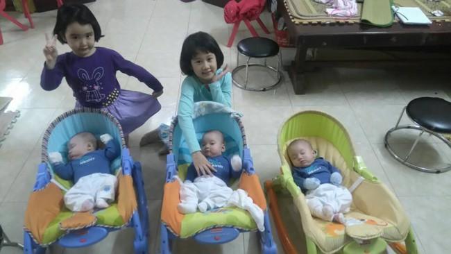 Bà mẹ 9X hồi hộp kể lại những nỗi sợ trong ca sinh ba cùng trứng cực hiếm gặp - Ảnh 7.