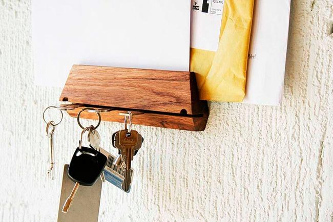 Những ý tưởng lưu trữ cần được xem ngay, nhất là với những người quen vứt chìa khóa bừa bãi - Ảnh 2.
