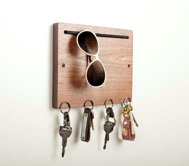 Những ý tưởng lưu trữ cần được xem ngay, nhất là với những người quen vứt chìa khóa bừa bãi - Ảnh 3.