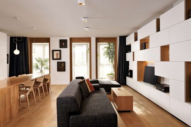 Trang trí phòng khách nhỏ chẳng còn khó nhờ có 10 mẹo hữu dụng này - Ảnh 7.
