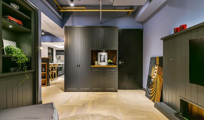 Căn hộ 60m², 2 phòng ngủ, không thể gọi là rộng nhưng vẫn đẹp xuất sắc với thiết kế ấn tượng - Ảnh 1.
