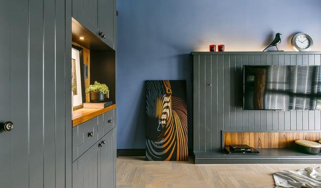 Căn hộ 60m², 2 phòng ngủ, không thể gọi là rộng nhưng vẫn đẹp xuất sắc với thiết kế ấn tượng - Ảnh 2.