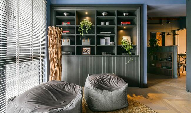 Căn hộ 60m², 2 phòng ngủ, không thể gọi là rộng nhưng vẫn đẹp xuất sắc với thiết kế ấn tượng - Ảnh 4.