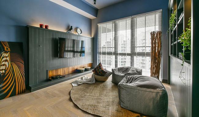 Căn hộ 60m², 2 phòng ngủ, không thể gọi là rộng nhưng vẫn đẹp xuất sắc với thiết kế ấn tượng - Ảnh 5.