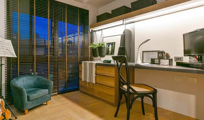 Căn hộ 60m², 2 phòng ngủ, không thể gọi là rộng nhưng vẫn đẹp xuất sắc với thiết kế ấn tượng - Ảnh 12.