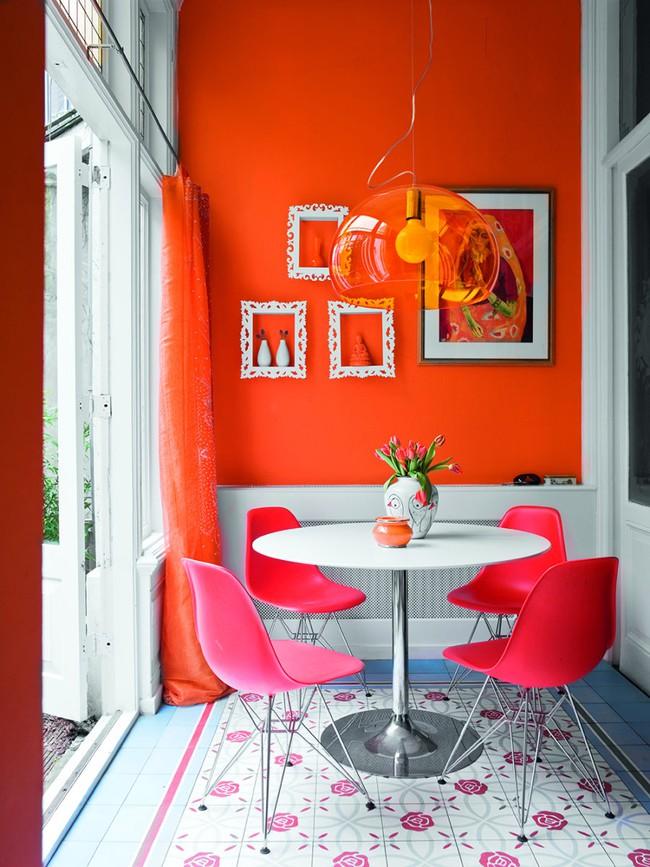 Bàn tròn - lời giải đúng dành cho các thiết kế phòng bếp có diện tích chật hẹp - Ảnh 3.