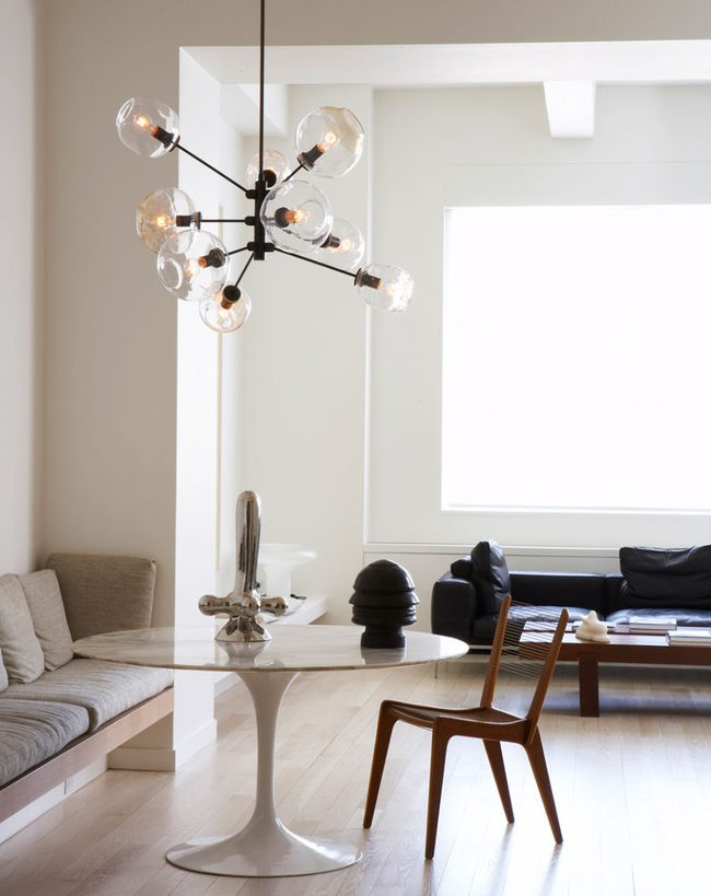 Bàn tròn - lời giải đúng dành cho các thiết kế phòng bếp có diện tích chật hẹp - Ảnh 4.