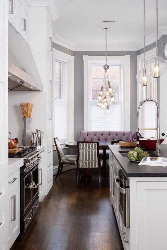 Bàn tròn - lời giải đúng dành cho các thiết kế phòng bếp có diện tích chật hẹp - Ảnh 7.