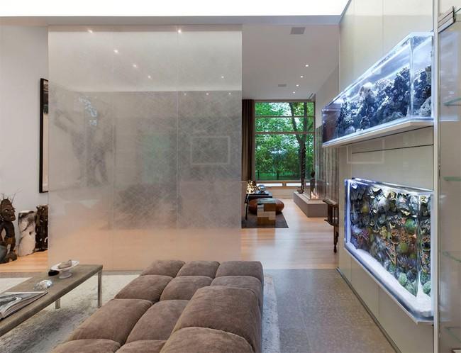 Bể cá được lồng ghép vào nội thất ngôi nhà, bạn đã biết xu hướng trang trí thịnh hành nhất hiện nay chưa? - Ảnh 3.