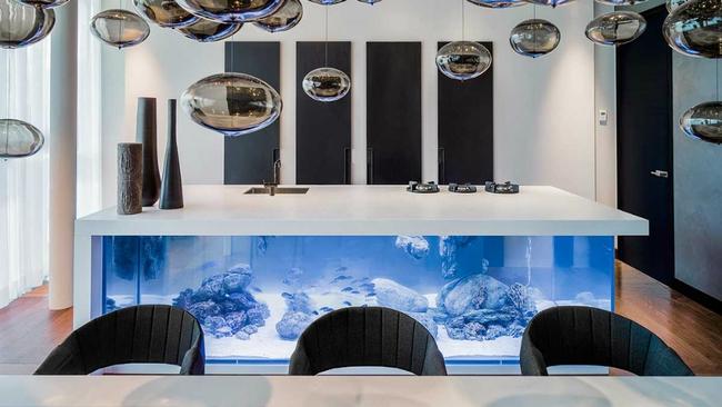Bể cá được lồng ghép vào nội thất ngôi nhà, bạn đã biết xu hướng trang trí thịnh hành nhất hiện nay chưa? - Ảnh 12.