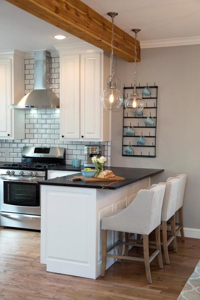 Chưa bao giờ thiết kế phòng bếp đơn giản thế, chỉ một cái bàn nhỏ bạn đã có cho riêng mình một thế giới rồi - Ảnh 6.