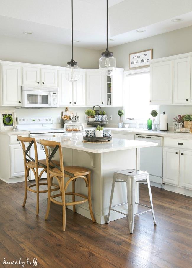 Bàn ăn dáng dài kết hợp chất liệu gạch đá, kỉ nguyên mới cho những nhà bếp theo phong cách hiện đại - Ảnh 2.