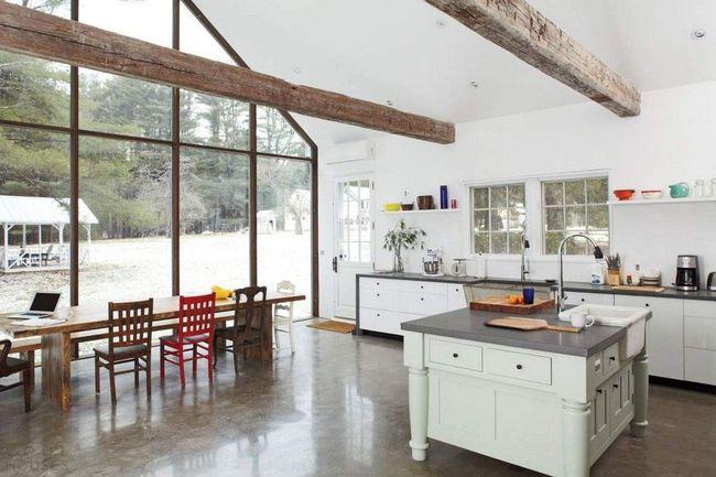 Bàn ăn dáng dài kết hợp chất liệu gạch đá, kỉ nguyên mới cho những nhà bếp theo phong cách hiện đại - Ảnh 9.