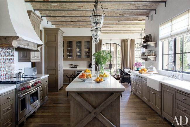 Bàn ăn dáng dài kết hợp chất liệu gạch đá, kỉ nguyên mới cho những nhà bếp theo phong cách hiện đại - Ảnh 11.