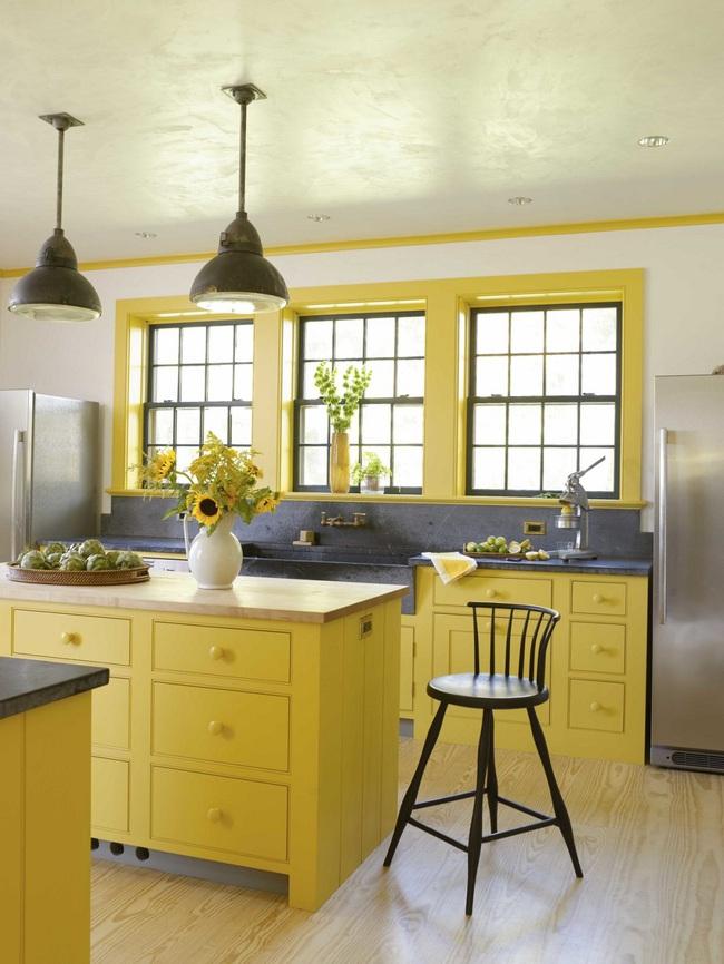 Bàn ăn dáng dài kết hợp chất liệu gạch đá, kỉ nguyên mới cho những nhà bếp theo phong cách hiện đại - Ảnh 14.