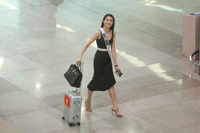 Á Hậu Lệ Hằng tuyên bố sẽ ăn thỏa thích sau cuộc thi Hoa hậu Hoàn Vũ - Ảnh 2.