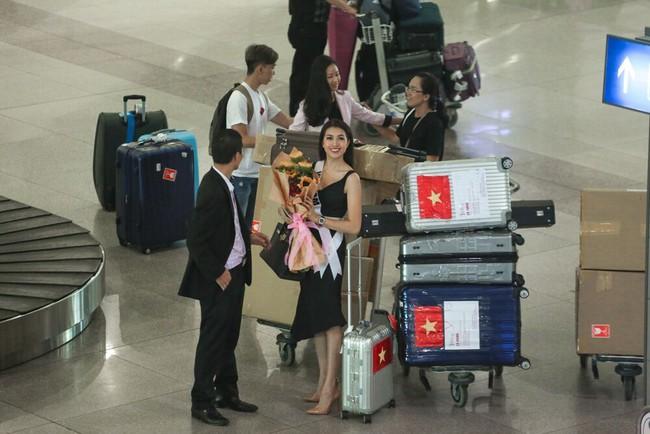 Á Hậu Lệ Hằng tuyên bố sẽ ăn thỏa thích sau cuộc thi Hoa hậu Hoàn Vũ - Ảnh 1.