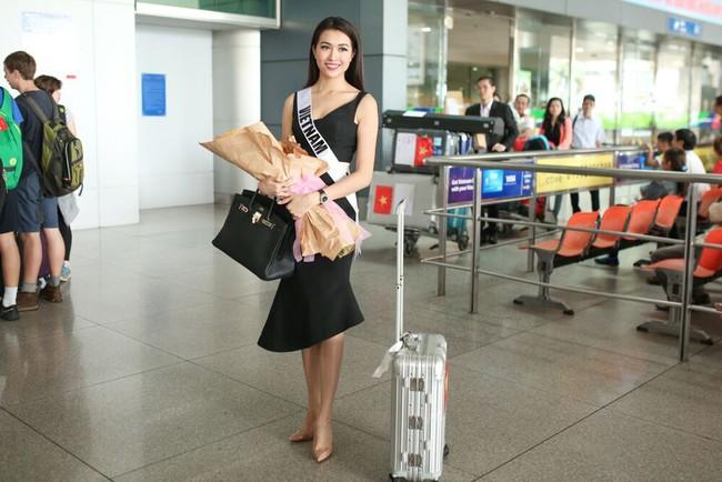 Á Hậu Lệ Hằng tuyên bố sẽ ăn thỏa thích sau cuộc thi Hoa hậu Hoàn Vũ - Ảnh 3.