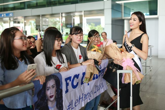 Á Hậu Lệ Hằng tuyên bố sẽ ăn thỏa thích sau cuộc thi Hoa hậu Hoàn Vũ - Ảnh 6.