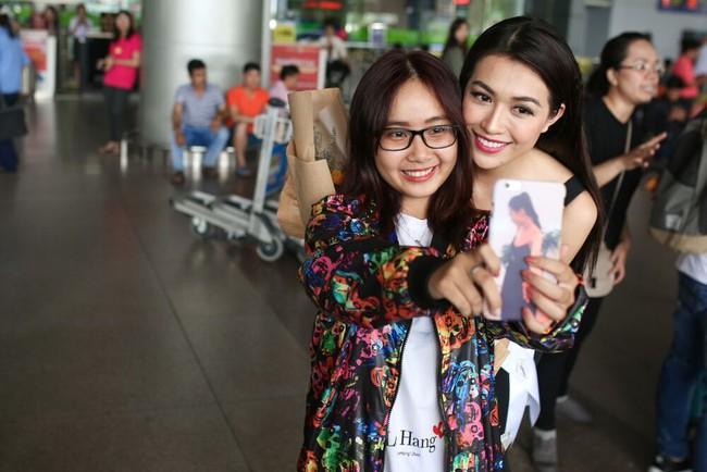 Á Hậu Lệ Hằng tuyên bố sẽ ăn thỏa thích sau cuộc thi Hoa hậu Hoàn Vũ - Ảnh 4.