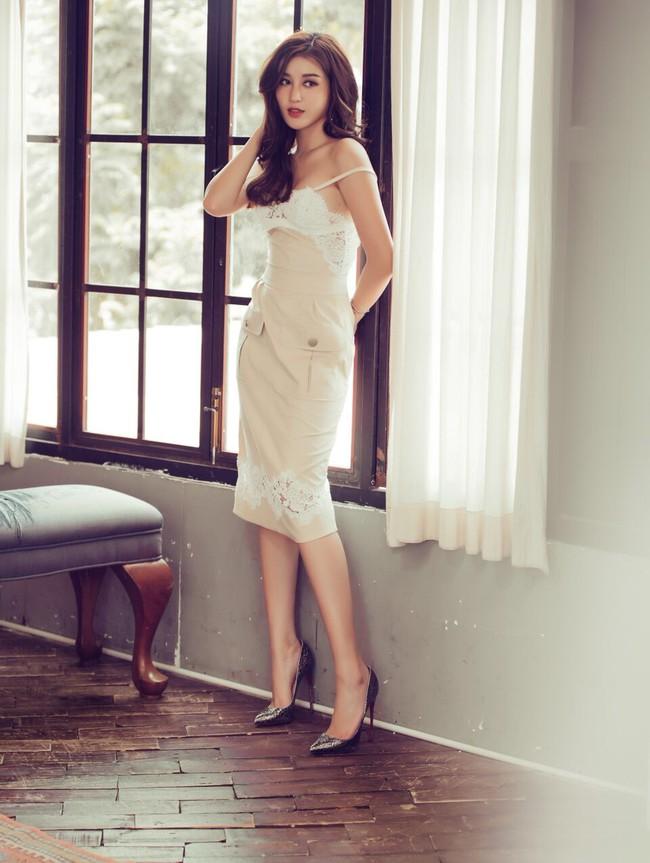 Huyền My bất ngờ lột xác đầy nóng bỏng trước khi thi Hoa hậu Hòa bình - Ảnh 6.