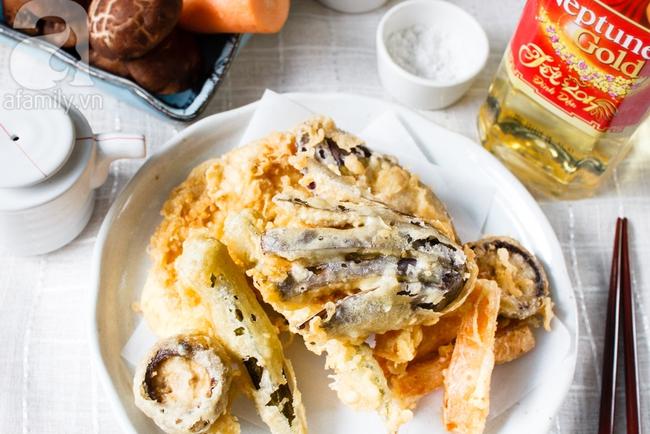 Ngày Tết trổ tài làm tempura rau củ chuẩn Nhật - Ảnh 9.