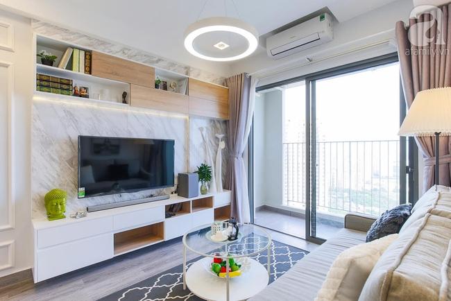 Căn hộ 65m² khi kê đủ nội thất trông rộng hơn lúc nhận nhà với chi phí 2,8 tỉ đồng ở khu Thảo Điền - Ảnh 5.