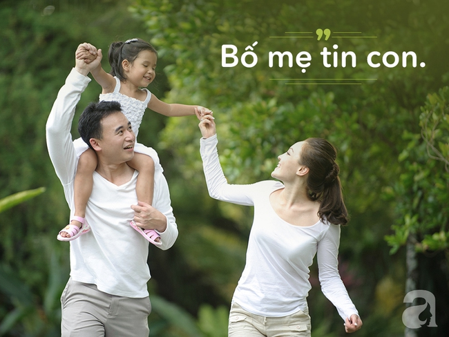 9 câu nói khiến mọi đứa trẻ tự tin, hạnh phúc nhưng bố mẹ rất ít nói với con - Ảnh 1.