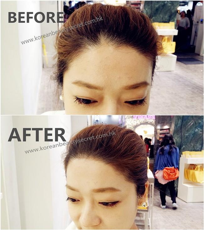 Ngạc nhiên chưa, phấn trang điểm cũng có thể khiến tóc mỏng lộ da đầu trông dày lên tức thì - Ảnh 11.