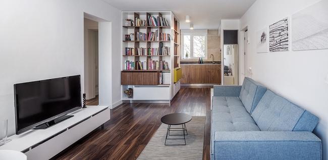 Căn hộ nhỏ 1 phòng ngủ vô cùng dễ thương khiến bạn yêu ngay từ cái nhìn đầu tiên - Ảnh 2.