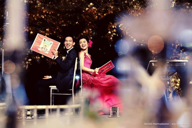Đừng choáng khi xem những đám cưới chất chơi hiếm có của các cặp đôi lắm tiền nhiều của này - Ảnh 33.