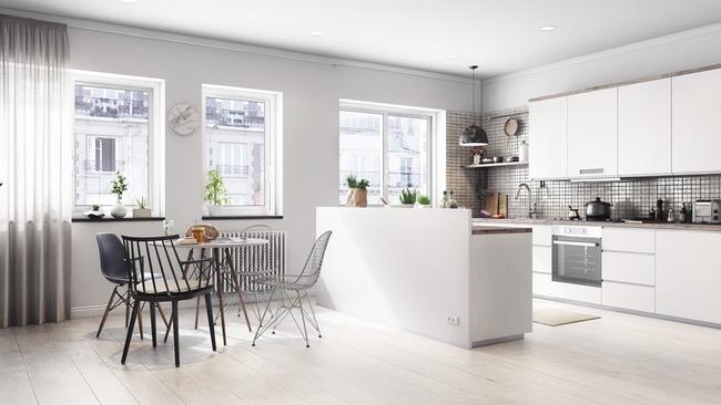 15 căn bếp hiện đại với sắc trắng tinh tế và vô cùng bắt mắt - Ảnh 15.